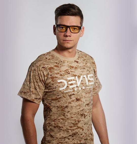T-Shirt man DDPAT Desert