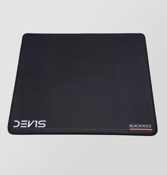 Gaming mousepad DEV1S BLACKHOLE Grand S (350x300x6) - with stitching