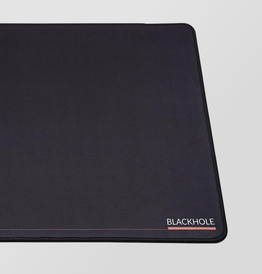 Gaming mousepad DEV1S BLACKHOLE Slim XL (1000x500x2) - with stitching