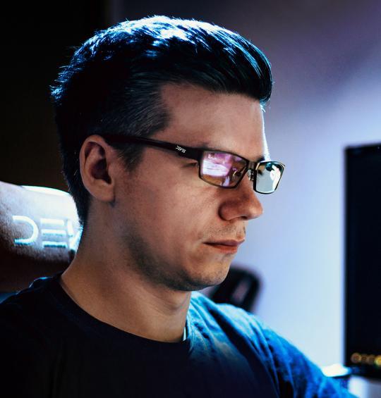 Gaming Glasses TITAN GAMER