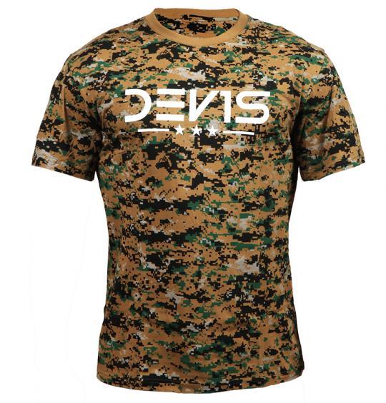 Tričko pánske DEV1S DDPAT Woodland Camo